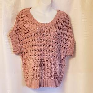 Apt.9 Pink Sweater. Size Medium